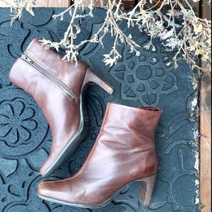 Aldo Brown ankle boots (leather)